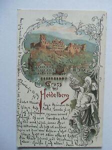 Ansichtskarte-Heidelberg-Schloss-1898-Trompeter