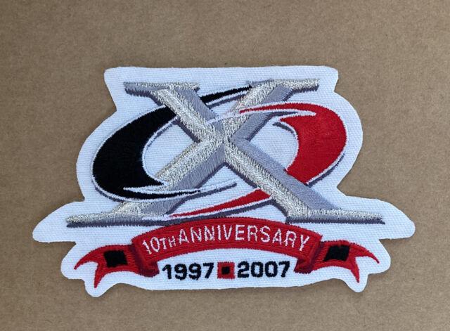 "NHL Carolina Hurricanes 10th Anniversary Patch 4.5x3"""