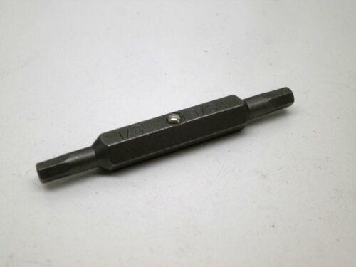 Megapro Tamperproof HEX ALLEN PIN Drill Bit 1//8 and 9//64