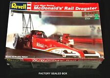 REVELL 1:25 scale McDonald's RAIL DRAGTSER DRAGSTER No 7354 FACTORY SEALED