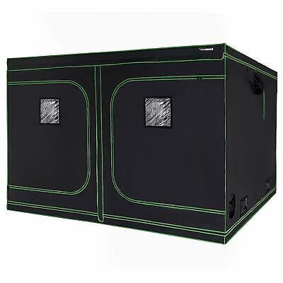 "VIVOSUN 96/""x96/""x80/"" Mylar Hydroponic Grow Tent Room for Indoor Plant Growing 8x8"