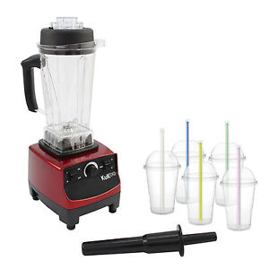 Details about Commercial Food Blender Heavy Duty Kitchen Mixer Milkshake Smoothie 2200W