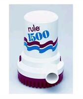 Rule Non-automatic Bilge Pumps 1500 Gph 12 Volt - 02