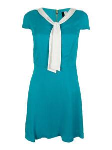 Kensie-Women-039-s-Tie-Neck-Dress