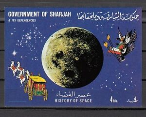 705 Bl69 History Of Space S / Blatt Spezieller Kauf Mi Cat Char