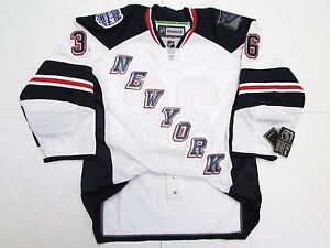 huge discount 0a73c 75073 Details about ZUCCARELLO NEW YORK RANGERS AUTHENTIC STADIUM SERIES REEBOK  EDGE 2.0 7287 JERSEY