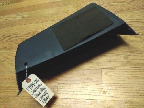 1974-76 Cadillac Dash Glove Box Compartment Insert Liner Tray *CLEAN!* Eldorado+