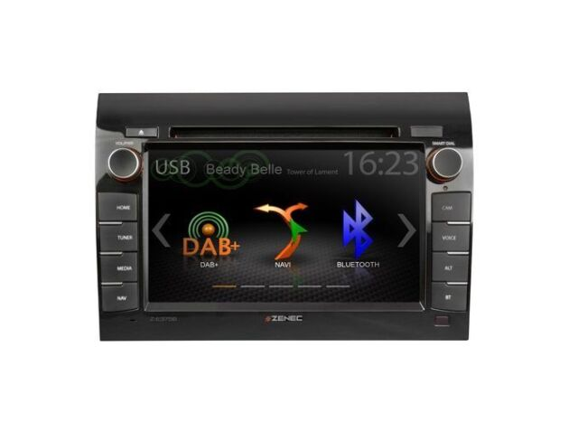 Zenec E > Go Z-E3756 Head Unit for Fiat Ducato GPS for Travel Mobile Caravan