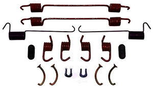 ACDelco 18K586 Professional Rear Drum Brake Spring Kit with Springs and Caps Washers Pins