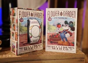 2019 Epcot Flower And Garden Festival Magic Band Mickey Mouse /& Friends LE 2000