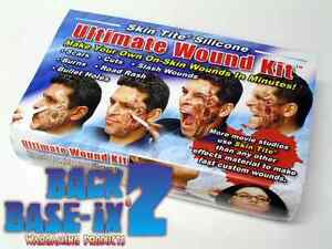 Liquid Silicone Rubber Ultimate Wound Kit for Halloween Costume & Zombie Make Up