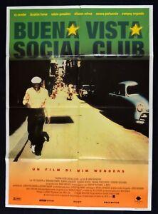 Werbeplakat Buena Vista Social Club Wenders Cooder Ferrer Ozi Cuba M324