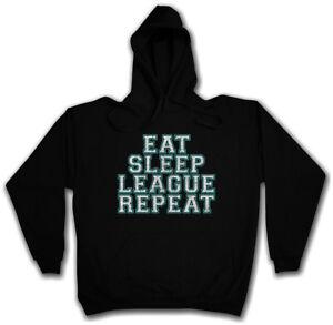 Fun informatico Legends Pullover League Sleep Hoodie Ripeti Mangiare Scienziato Of BYPqAwn