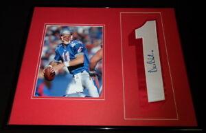 Drew-Bledsoe-Signed-Framed-16x20-Jersey-amp-Photo-Set-Patriots
