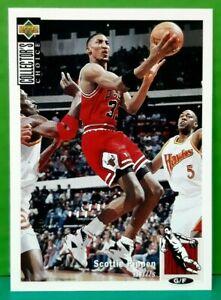 Scottie Pippen regular card 1994-95 Upper Deck Collector's Choice #33
