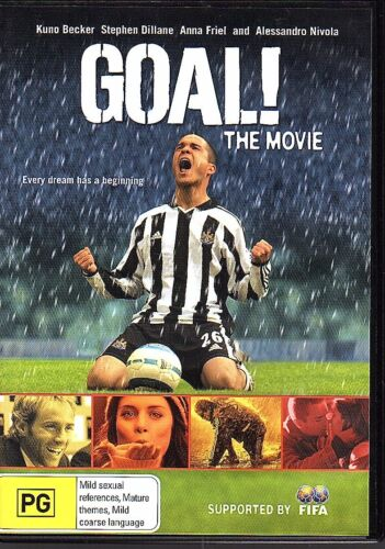 1 of 1 - GOAL! THE MOVIE - DVD R4 Kuno Becker Stephen Dillane LIKE NEW FREE POST