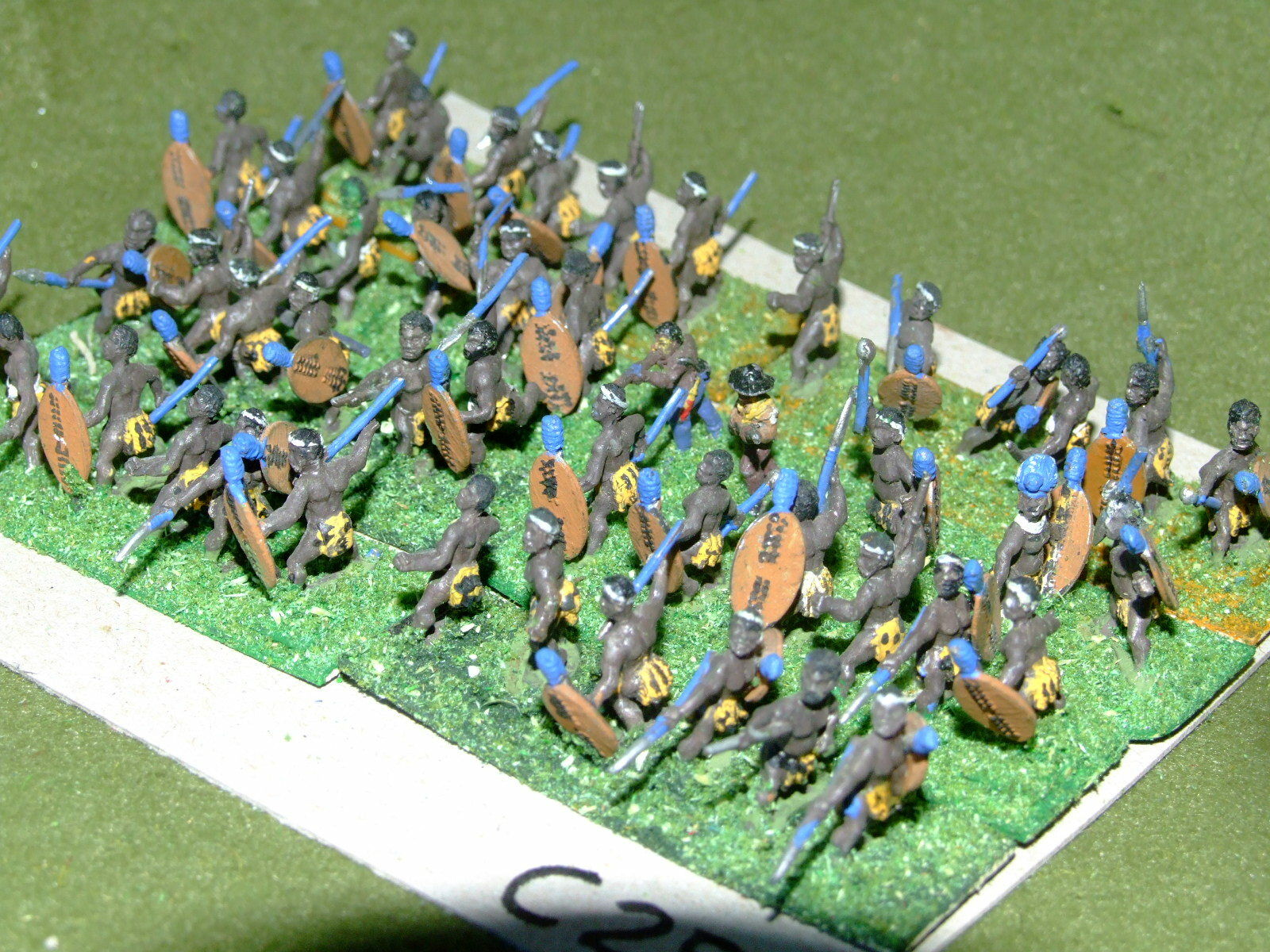 15mm colonial   zulu - 48 Infantry - inf (CL257)