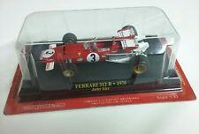 FERRARI F312 B 1970 Jacky ICKX F1 FORMULE 1 N°3 rouge au 1/43 sous blister