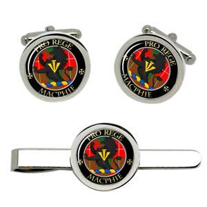 Macphie-Modern-Scottish-Clan-Cufflinks-and-Tie-Clip-Set
