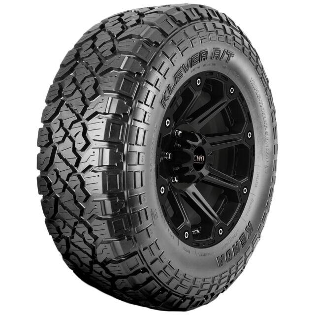 4-35x10.50R17LT Kenda Klever R/T KR601 121R D/8 Ply BSW Tires