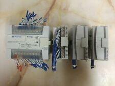 Allen Bradley Micrologix 1200 1762 L24bwa Ser C Rev I With1762 Iq16 21762 Ow8