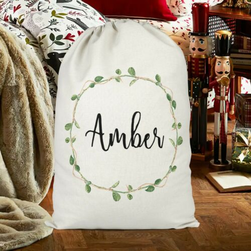 Christmas Sack for Adult Green Reef Personalised Christmas Sack Presents for