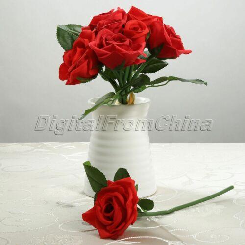 Mariage Fête Bridal Bouquet Soie Posy Artificielle Roses Fleur Maison Fleur Decor