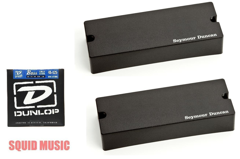 Seymour Duncan ASB2-5s Active Soapbar 5 String Bass Phase II Set ( BASS STRINGS)