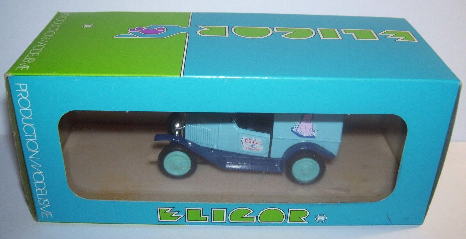 A Eligor Citroen 5hp 5 Cv 200 kg Van 1926 bebis Cadum Ref 1018 låda 1  43