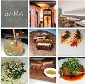 Sara-Restaurant-in-Toronto-by-Food-Dudes-150-Dining-Gift-Certificate