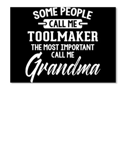 Landscape Details about  /Gift For Toolmaker Grandma Mothers Day Present Sticker