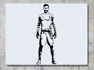 Footballers Medium Harry Kane Son Lloris Eriksen /& MORE Wall Art Decal Sticker
