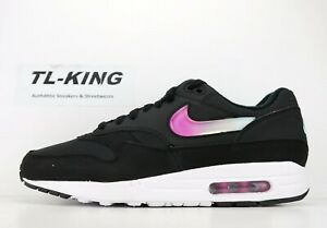 41e9bed4e78 Nike Air Max 1 SE Jelly Jewel Black Blue Gaze Active Fuchsia AO1021 ...