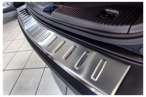 2012-2016 Ladekantenschutz für Opel Mokka Chevrolet Trax Edelstahl Abkantung Bj