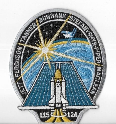 STS-115 ATLANTIS SPACE SHUTTLE MISSION IRON ON PATCH NASA