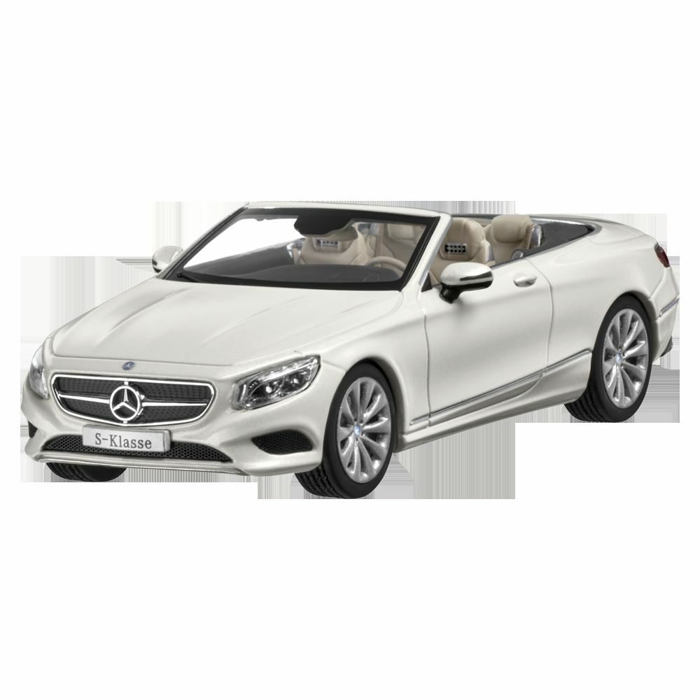 Mercedes Benz a 217 - S CLASS S 500 Cabriolet Softtop 2015 White 1 43 New Sealed