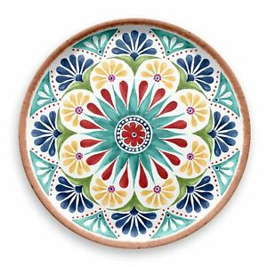 Outdoor Plastic//Melamine Appetiser Serving Platter x 1 Epicurean Rio Medallion