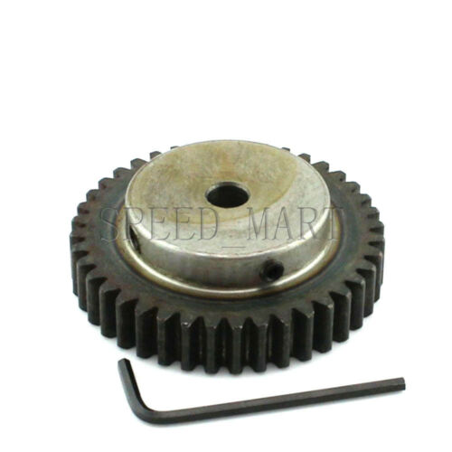 1.5M50T 25mm Bore Hole 50 Teeth Module 1.5 Motor Metal Gear Wheel Top Screw