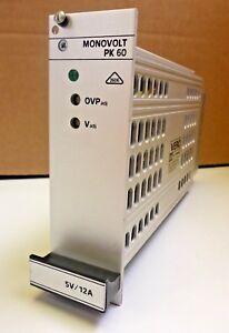 Bicc-Vero-Schaltnetzteil-PK60-Monovolt-5V-12A-Typ-116-10063D-NOS