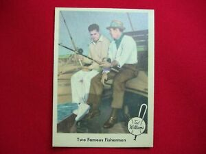 1959-FLEER-TED-WILLIAMS-BASEBALL-034-TWO-FAMOUS-FISHERMEN-034-67-MUST-SEE-VERY-NICE