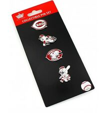 Cincinnati Reds Logo Pin Set