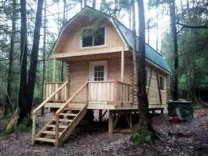15 Acre NY Land 704 SF. Log Cabin Lot #8 FINANCING NO RESERVE ESCAPE PANDEMIC PA