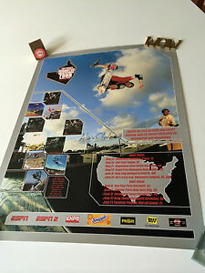 Tony-Hawk-039-s-Gigantic-Skatepark-Tour-039-01-Poster-Signed-by-ALEX-CHALMERS