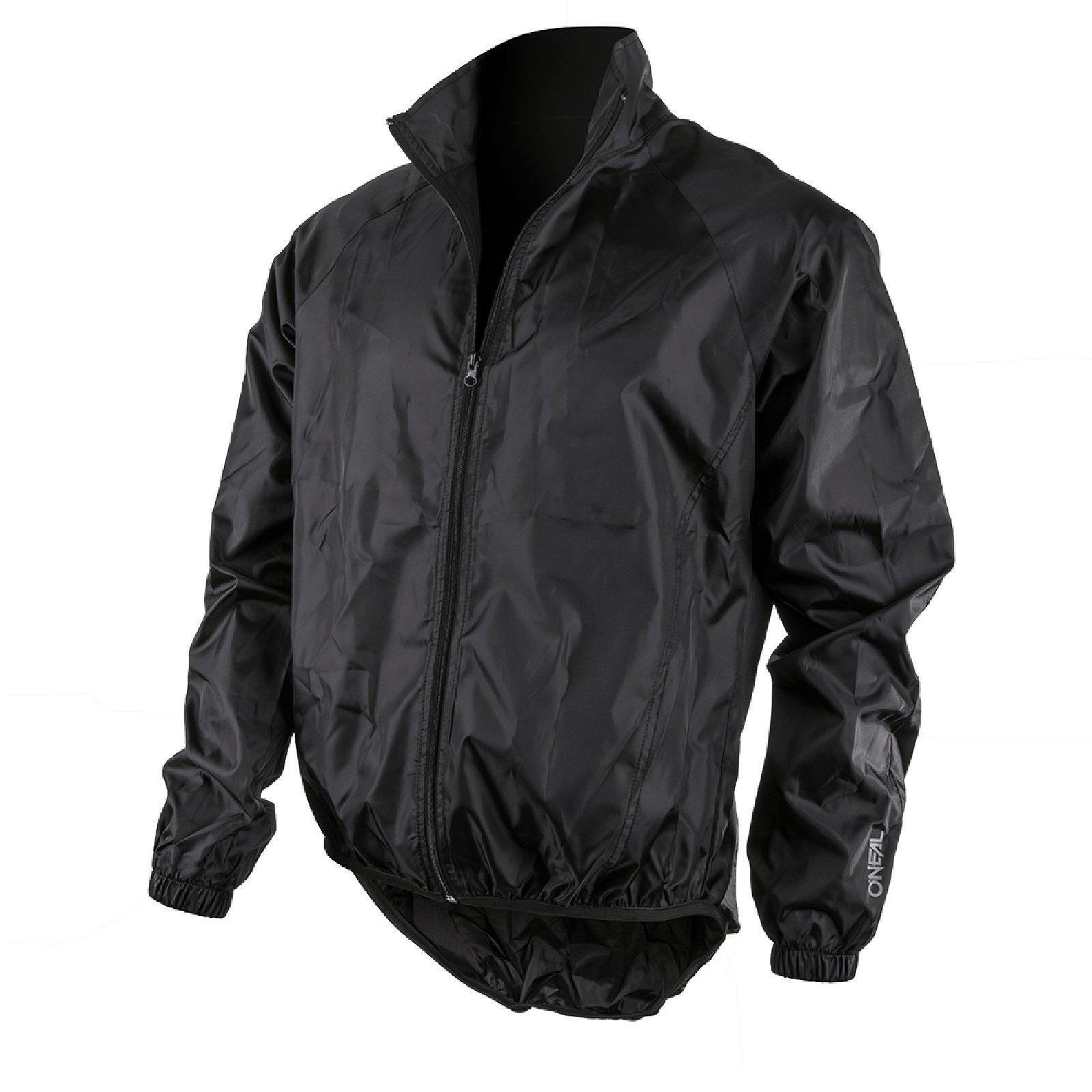 ONeal brisa lluvia chaqueta  transpirable negro Mountain bike Moto MX cross MTB  mejor opcion
