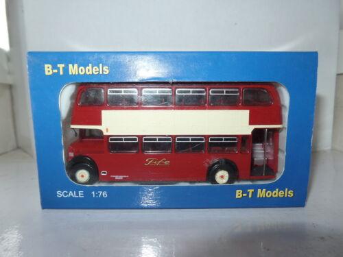 B T Models B104A 1//76 OO Scale Bristol Lodekka LD Bus Alexander Fife Birnham Rd
