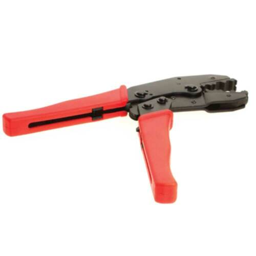 Details about  /Ratchet Action Coax Cable Connector F Type BNC RG6 RG59 Crimper Crimp Tool