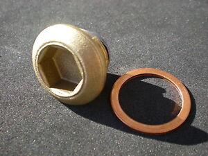 Tappo-Magnetico-Scarico-Olio-Coppa-In-Alluminio-FIAT-500-126-ABARTH-GIANNINI