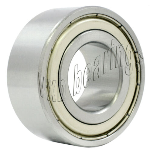 5304ZZ Nachi Double Row Angular Contact 20mm x 52mm x 22.2mm Shielded Japan Ball