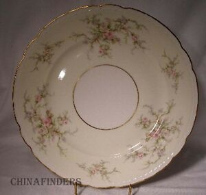 Excellent Condition Arcadian Old Rose 5 Piece Place Setting Vintage