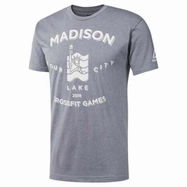 e048198d6f Reebok Crossfit Men's Madison Crossfit Games 2018 T Shirt - NWT Size Medium